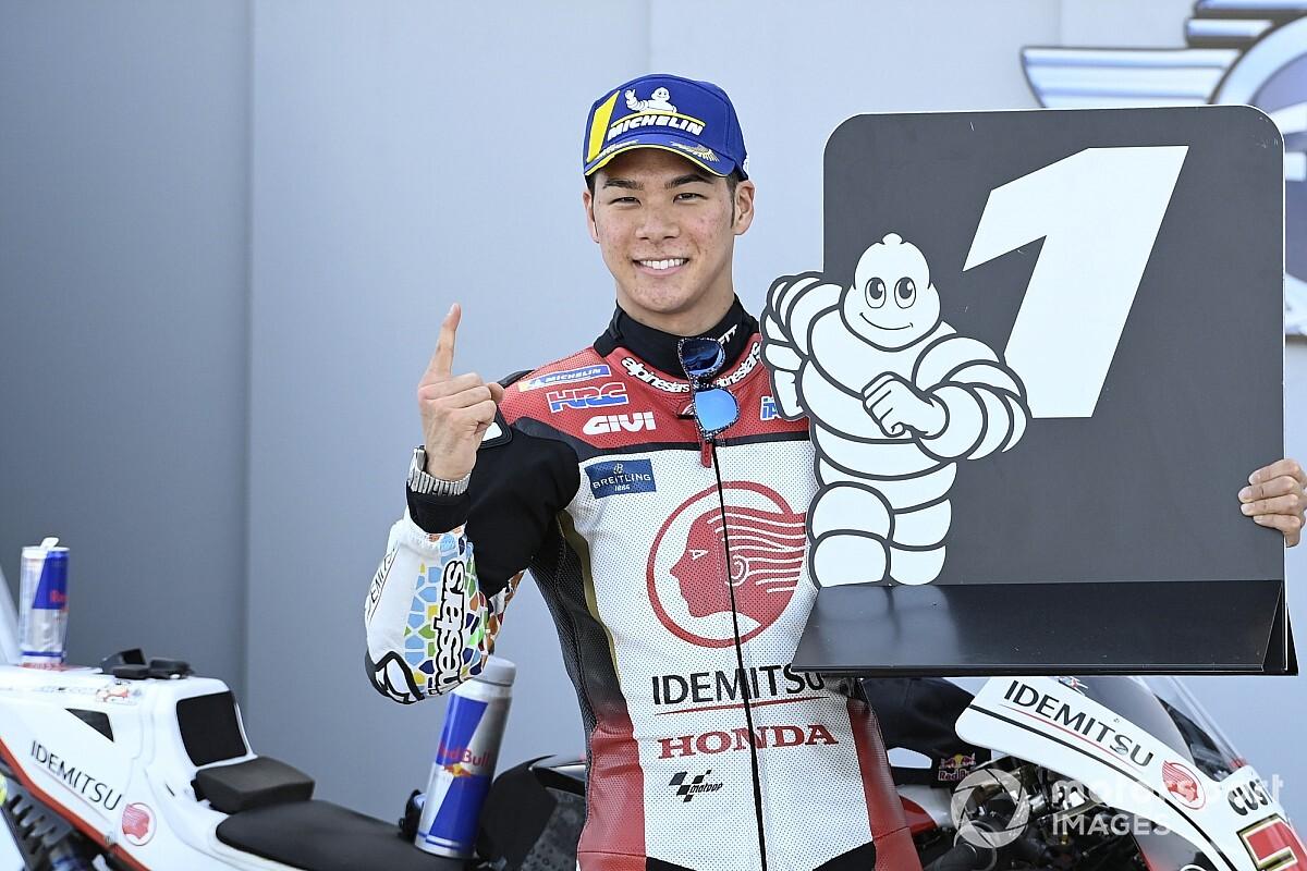 中上貴晶、キャリア初PP獲得! 最高峰クラス日本人PPは16年ぶり MotoGPテルエルGP予選