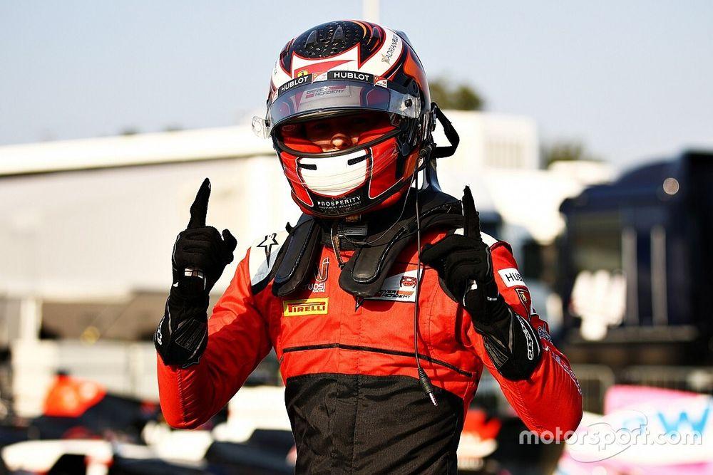 Ilott najszybszy, wypadek Schumachera