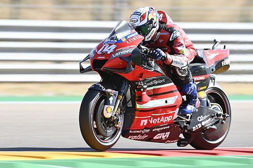 Dovizioso: Using me for tow 'not a smart move' by Petrucci