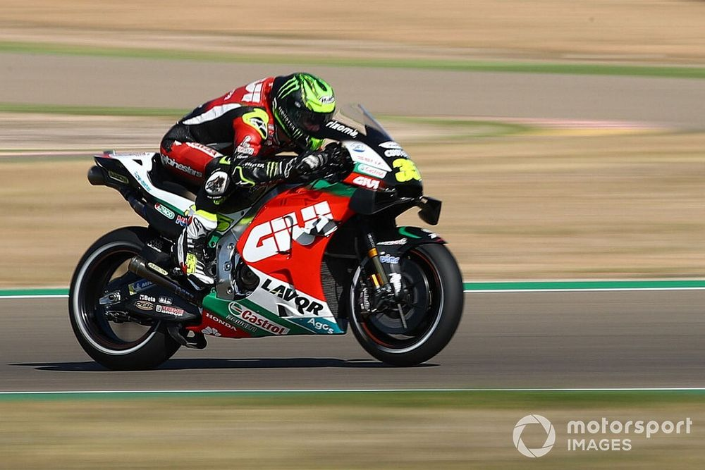 """Crutchlow: Suspension update """"not miracle cure"""" for Honda"""