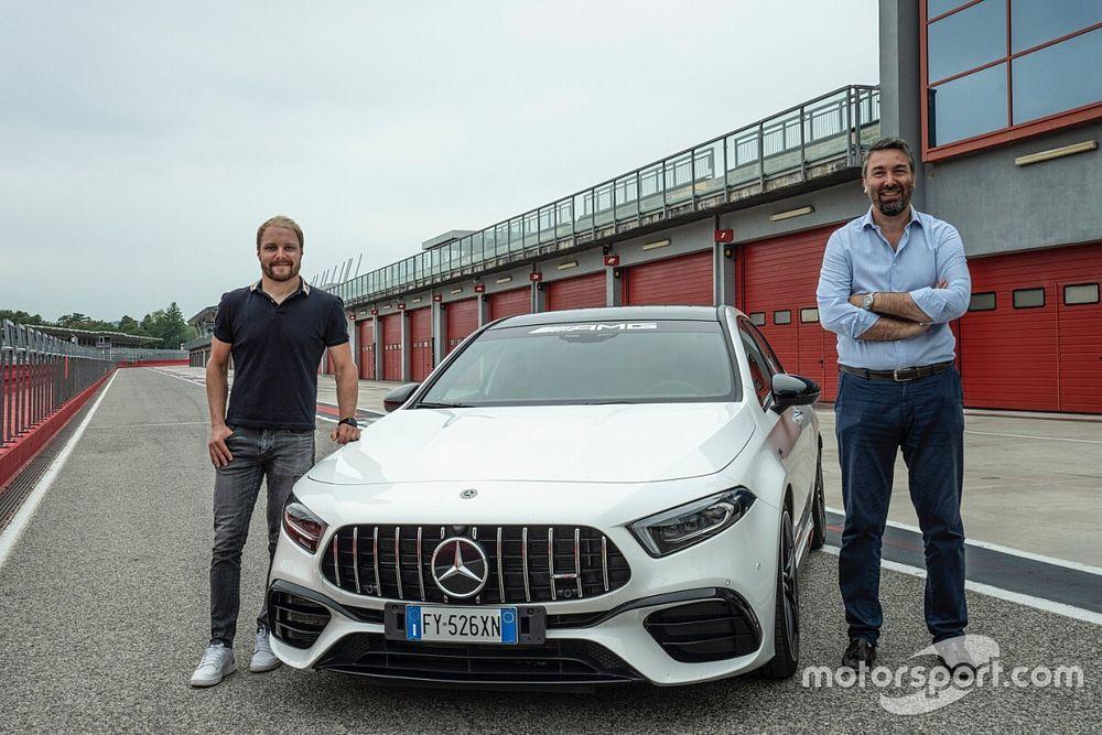 Bottas a Imola per scoprire il GP dell'Emilia Romagna