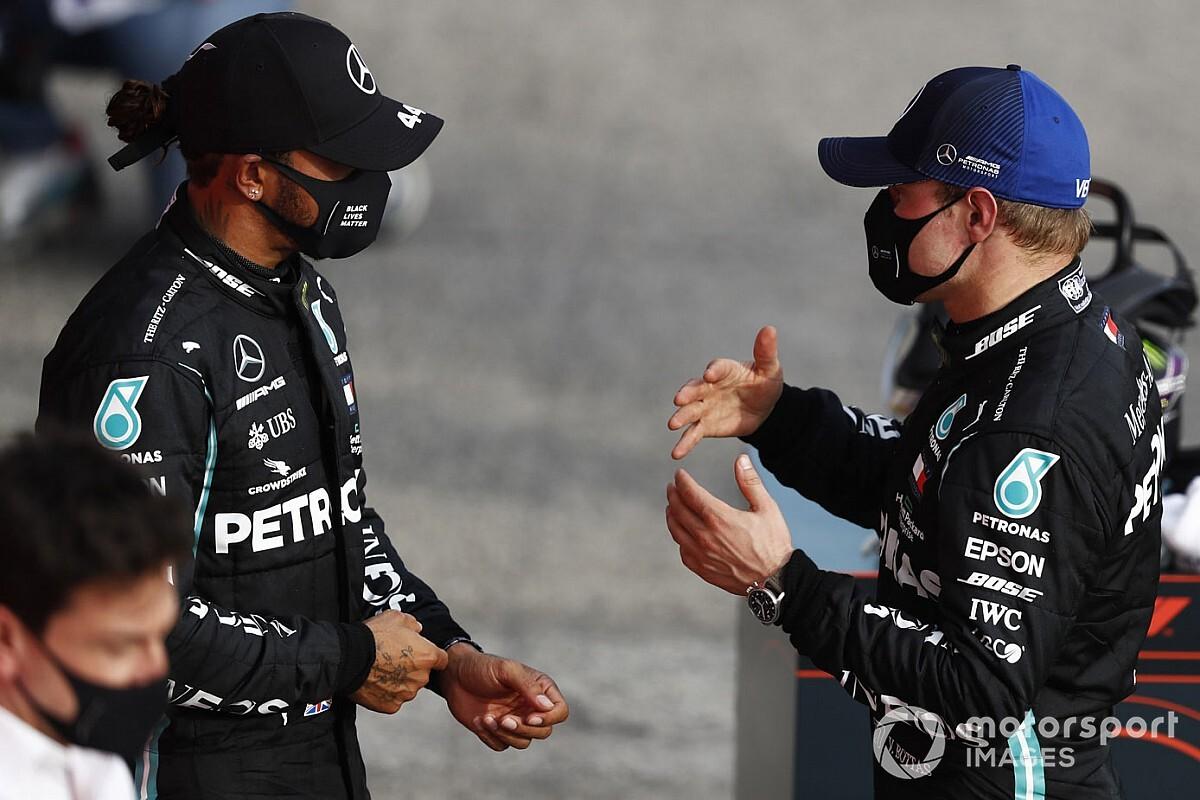 Bottas ne veut pas entraîner Hamilton dans des jeux psychologiques