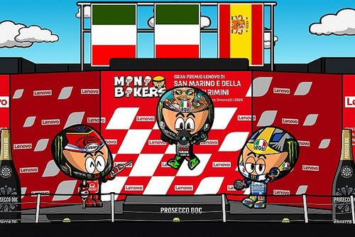 Vídeo: el intenso GP de San Marino de MotoGP según MiniBikers