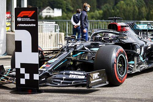 "Hamilton's qualifying lap ""extra-terrestrial"" - Wolff"