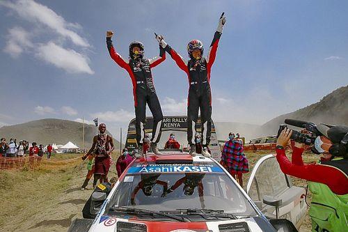 Safari Rallisi: Zorlu ralliden Toyota galip çıktı, zafer Ogier'in!