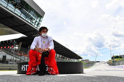 """フェラーリのサインツJr.、ハードタイヤを""""フル活用""""しオーストリアGPで5位「だんだん楽しくなりつつある」"""