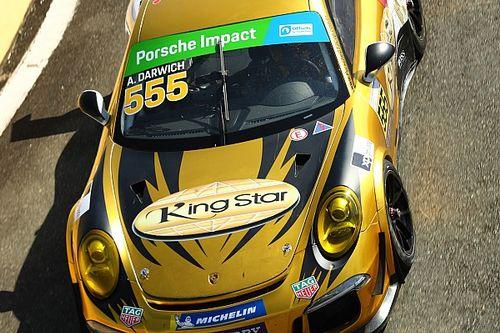 Porsche GT3 Cup: Darwich segura Mohr e vence corrida eletrizante em Curitiba