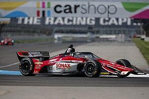 IndyCar GP Indy: VeeKay heads Ganassi pair in warm-up