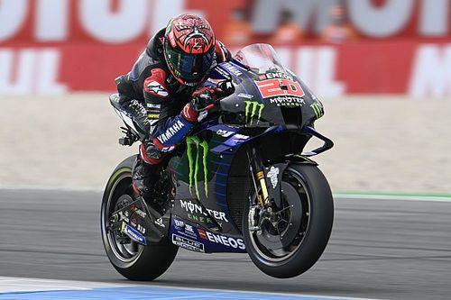 MotoGP: Quartararo vence GP da Holanda com dobradinha da Yamaha; Márquez é sétimo após sair de 20º