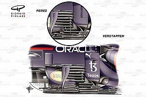 Red Bull: Verstappen dispone di un diverso bargeboard