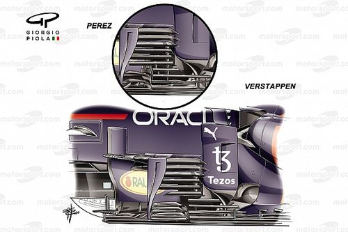 F1 upgrades that helped Verstappen pull further clear of Mercedes