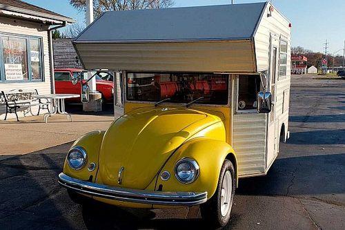 Super Bugger Camper (1969): el Beetle hecho autocaravana