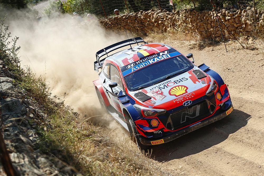 WRC, Rally Italia, PS8: Neuville-Sordo nella tripletta Hyundai
