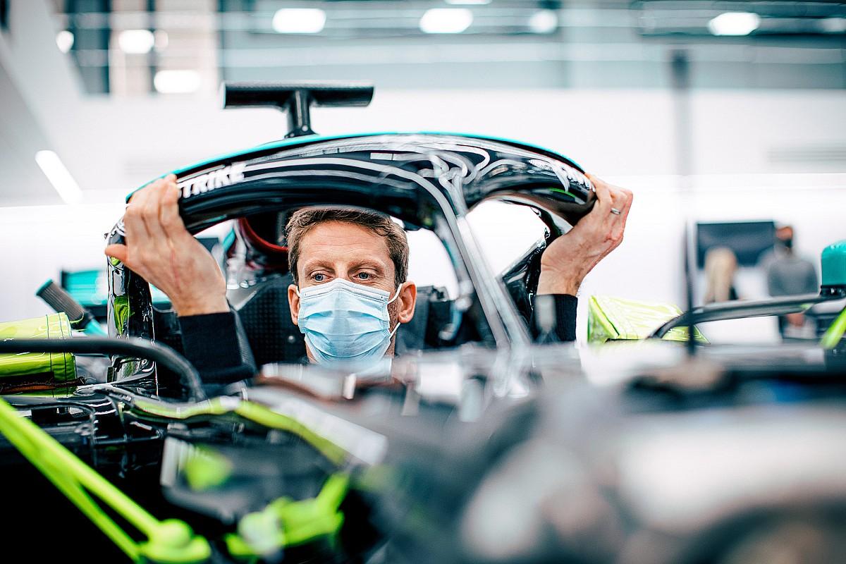 Le test de Grosjean avec Mercedes reporté
