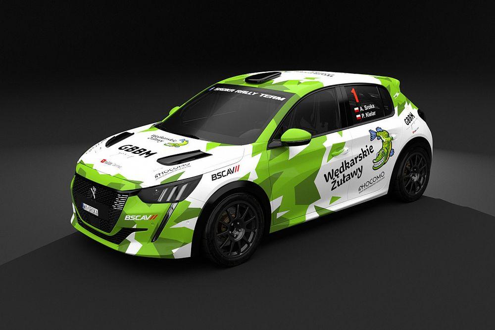 Sroka wsiada w Rally4