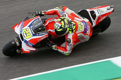 Mugello MotoGP: Iannone edges Marquez in third practice