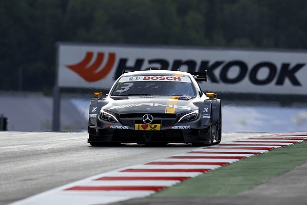 After hard-fought Race 1 in Spielberg, Paul Di Resta continues to lead the DTM drivers' standings