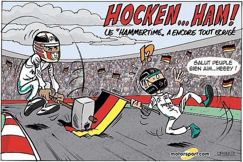 Le GP d'Allemagne vu par Cirebox!