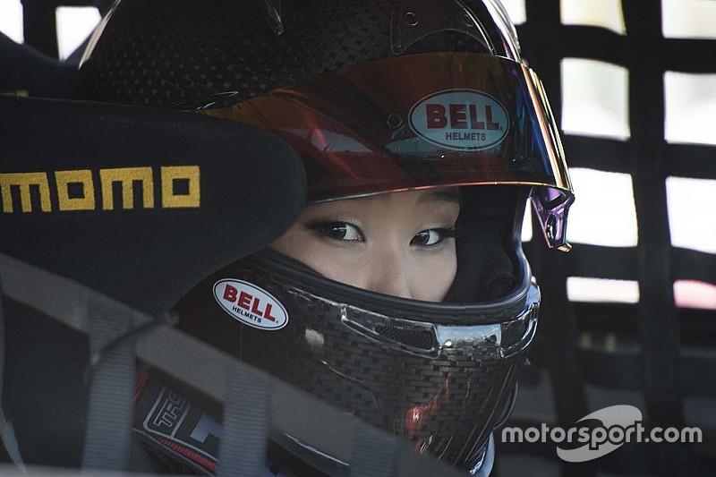 Challenging weekend for Samantha Tan at Utah Motorsports Campus