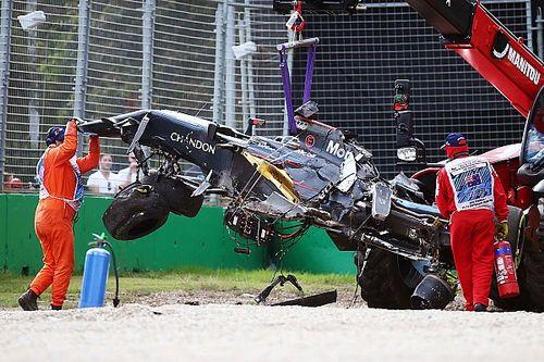 Fürchterlicher Unfall mit Überschlag sorgt für Formel-1-Rennunterbrechung