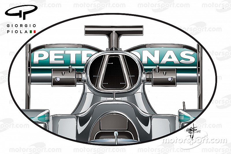 Tech analysis: F1 teams seeking gains in roll-hoop design