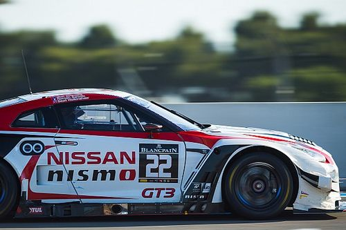 Simmons, Parry, Moore set for Nissan Blancpain entry