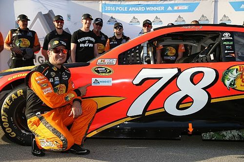 "Truex would like to stay with Furniture Row ""for a long time"""