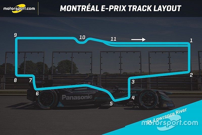 Track layout revealed for Montreal Formula E race