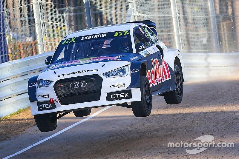 Ekstrom secures Audi support for EKS World RX team