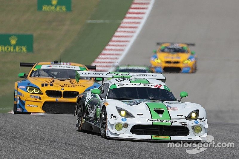 Viper Exchange determined to retire Dodge Viper a winner at Petit Le Mans