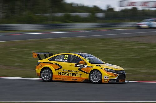 Moscow WTCC: Catsburg puts Lada on top in first practice