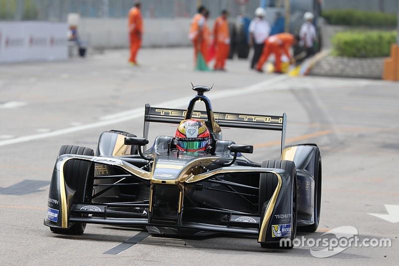Hong Kong ePrix: Vergne tops interrupted final practice