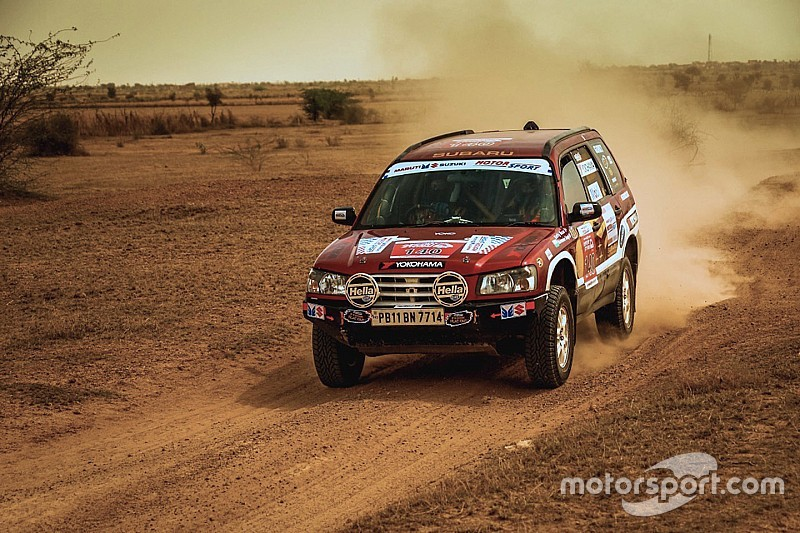 Desert Storm, Leg 5: Rana takes lead as Mishra suffers heavy crash