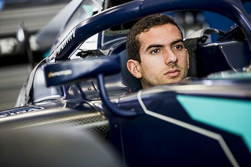 Nicholas Latifi's race hampered by clutch woes