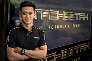 Formula E Breaking news Zhou lands Techeetah development driver role