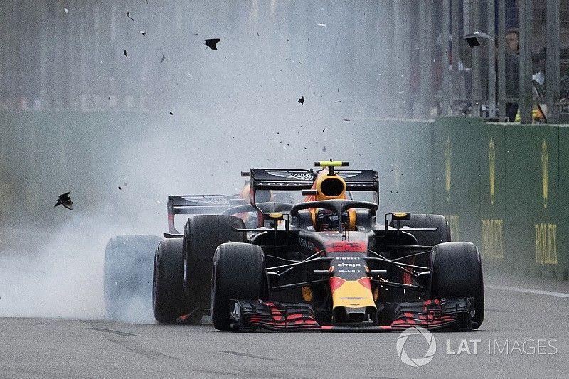 """Ricciardo era """"passageiro"""" no confronto de Baku, disse Brawn"""