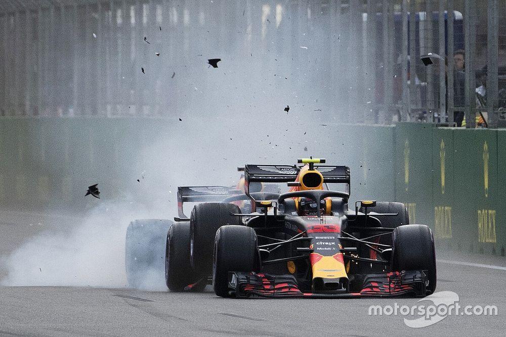Verstappen és Ricciardo drámai csattanása, Räikkönen és Pérez a dobogón