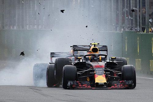 L'accrochage Verstappen-Ricciardo en images