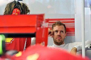 Феттель остался недоволен машиной по итогам пятницы