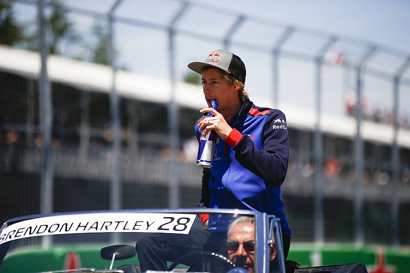 Hartley pasó por el hospital tras el accidente con Stroll
