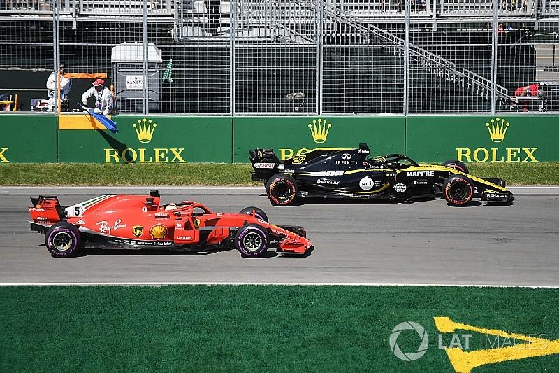 """Vettel et le slalom impossible dans un trafic """"ridicule"""""""
