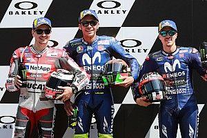 De startopstelling voor de MotoGP Grand Prix van Italië