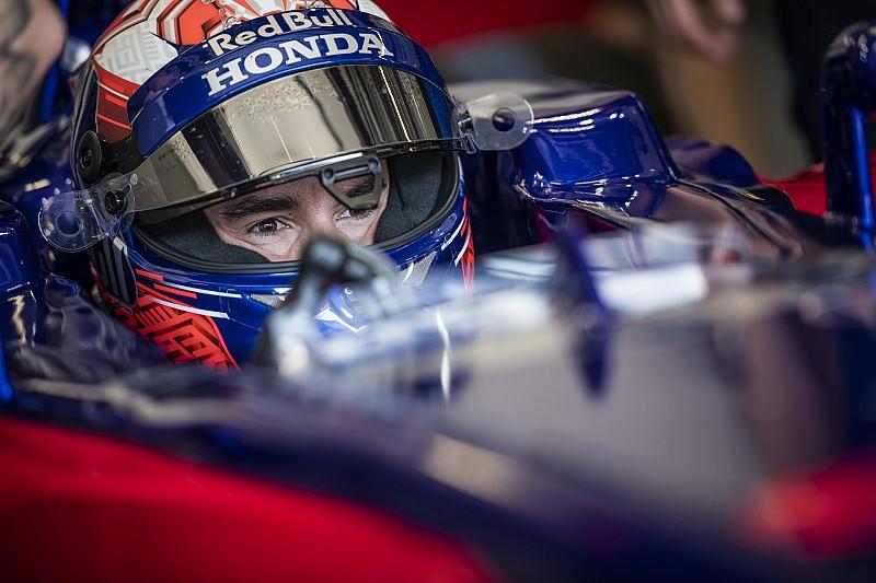 Marc Marquez ha iniziato il suo test con la Toro Rosso al Red Bull Ring