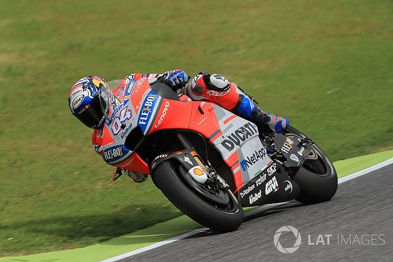 "Dovizioso ""angry"" after lost Mugello practice time"
