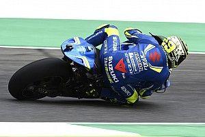 Iannone volvió a quedar arriba en la segunda práctica