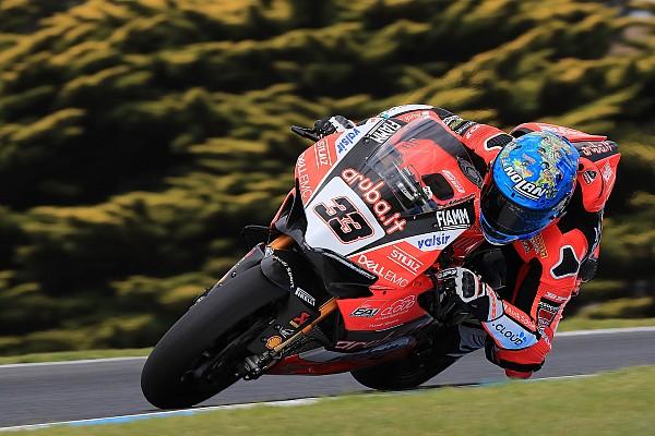 WSBK Ultime notizie Ducati, Melandri soddisfatto a metà: