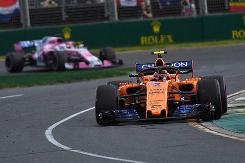 A McLaren gyorsult a legtöbbet a 2017-es ausztrál futamhoz képest