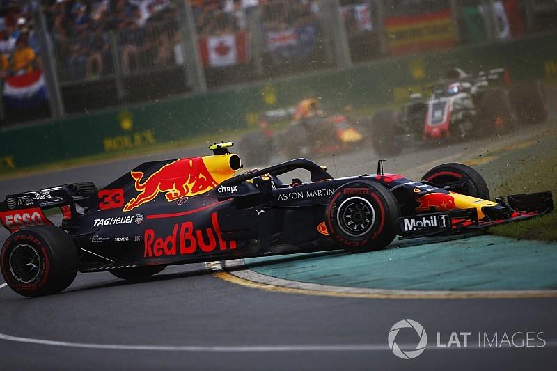 Horner cree que Verstappen fue desafortunado en Australia