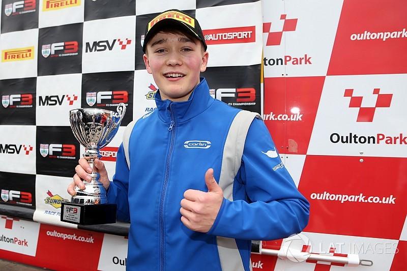 Монгер поднялся на подиум по итогам первой гонки сезона британской Ф3