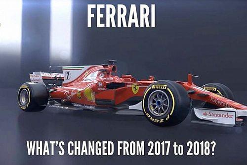 Video: Ferrari'nin 2018 aracında öne çıkan detaylar